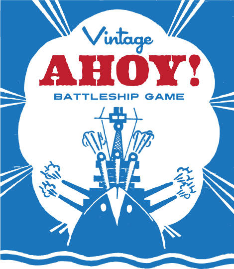Free Printable Vintage Battleship Game  Cathe HoldenS Inspired Barn
