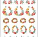 Wallpaper rose labels