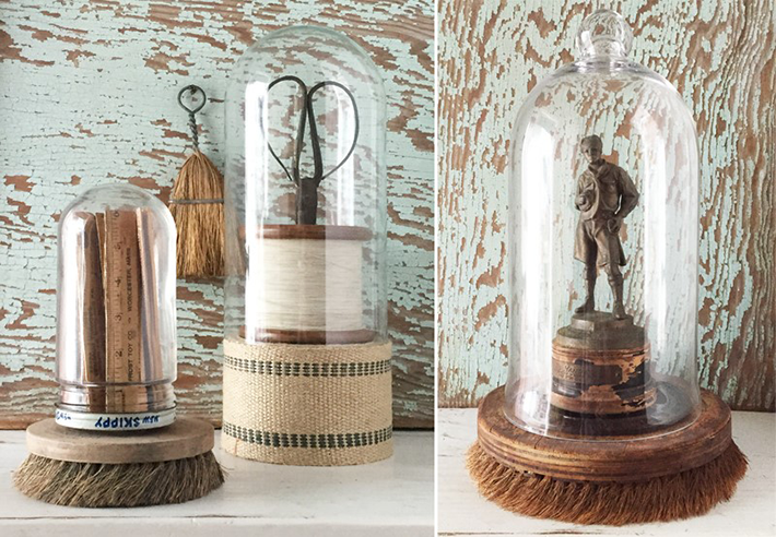15 Unique Ideas For Home Decor Cloche Displays