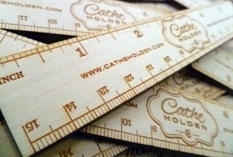 2 6 inches on ruler. I designed custom 6-inch