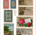 Vintage Digital Ephemera Cards