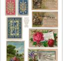 Vintage Digital Ephemera Cards