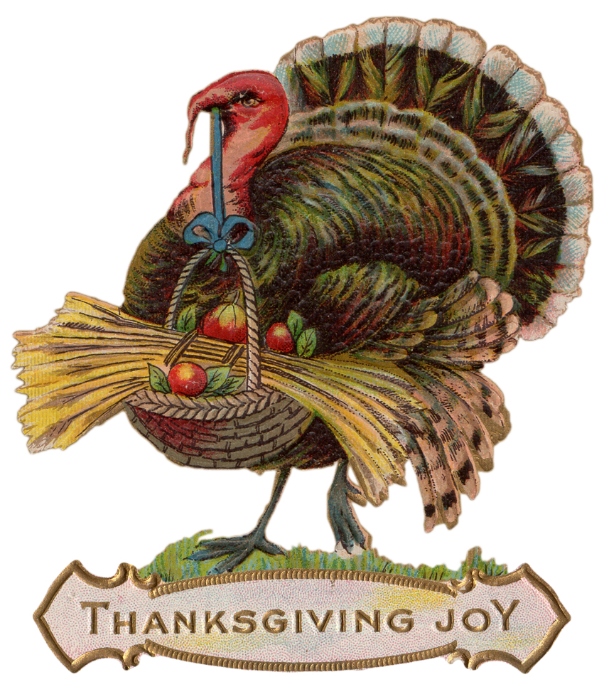 Vintage Thanksgiving Postcards: Free Digital Downloads