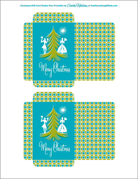 Free Gift Card Packet Printables | Cathe Holden\'s Inspired Barn
