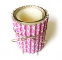 Beaded Washi Sheet Candle Wrap