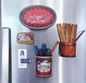 Refrigerator Tin Organizers