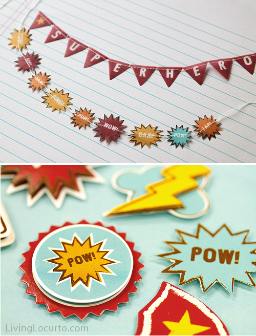 SuperHero-Banners-Stickers