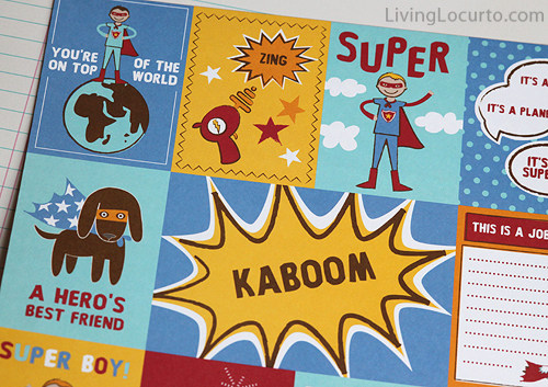 SuperHero-Paper