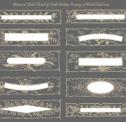 Floral Panel Labels