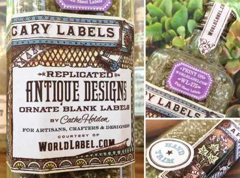 Ornate Apothecary Labels: Free Printables
