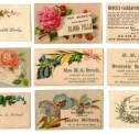 Vintage Calling Cards