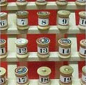 Advent Spool Calendar