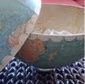 Vintage Globe Bowl