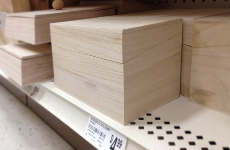I Spied These Large Wooden